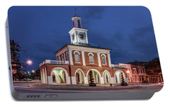 Portable Battery Charger featuring the photograph The Market House by Rob Sellers