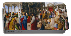 The Marriage At Cana Portable Battery Charger