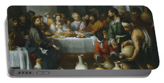 The Marriage Feast At Cana Portable Battery Charger