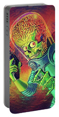 The Martian - Mars Attacks Portable Battery Charger