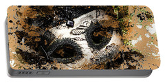 Portable Battery Charger featuring the photograph The Mask Of Fiction by LemonArt Photography