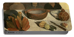 The Meal Portable Battery Charger by Paul Gauguin