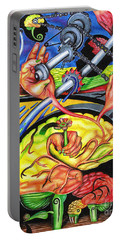 The Mechanics Of Consciousness Portable Battery Charger