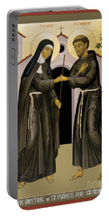 The Meeting Of Sts. Francis And Clare - Rlfac Portable Battery Charger