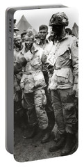 The Men Of Company E Of The 502nd Parachute Infantry Regiment Before D Day Portable Battery Charger