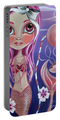 The Mermaid's Garden Portable Battery Charger