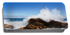 The Might Of The Ocean Portable Battery Charger by Jorgo Photography - Wall Art Gallery