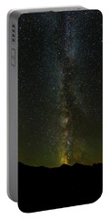 Portable Battery Charger featuring the photograph The Milky Way At Sprague Lake 2 by Tim Stanley
