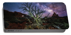 The Milky Way Tree Portable Battery Charger