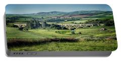 The Milwaukee Road Railroad Viaduct Near Rosalia Wa 1x2 Dsc05095 Portable Battery Charger