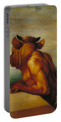 The Minotaur Portable Battery Charger by George Frederic Watts
