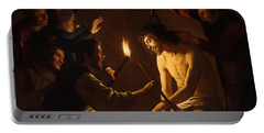 The Mocking Of Christ Portable Battery Charger