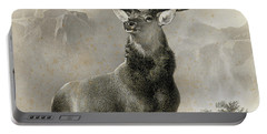 The Monarch Of The Glen, 1852 Portable Battery Charger