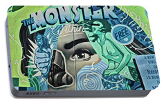 Portable Battery Charger featuring the photograph The Monster Within by Joan Reese