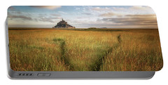The Mont Saint-michel's Bay Portable Battery Charger
