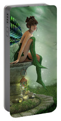 The Moonlight Fairy Portable Battery Charger by Jayne Wilson