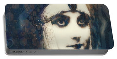 Portable Battery Charger featuring the digital art The More I See You , The More I Want You  by Paul Lovering