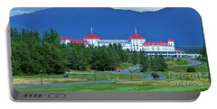 Portable Battery Charger featuring the photograph The Mount Washington Hotel by Barbara S Nickerson