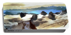 The Mountain Paint Portable Battery Charger