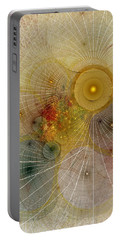 The Mourning Of Persephone - Fractal Art Portable Battery Charger