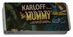 The Mummy 1929 Poster Boris Karloff Portable Battery Charger