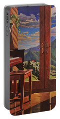 The Music Room Portable Battery Charger by Art West