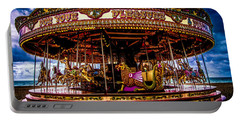 Portable Battery Charger featuring the photograph The Mystical Dragon Chariot by Chris Lord