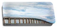 Portable Battery Charger featuring the photograph The Navarre Bridge by Shelby Young