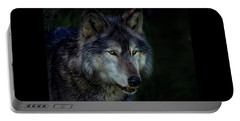 The Night Belongs To The Wolf Portable Battery Charger