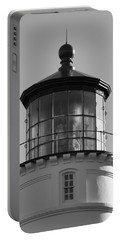 Portable Battery Charger featuring the photograph The Night Light by Laddie Halupa