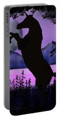 The Night Of The Unicorn Portable Battery Charger