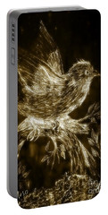 The Night Sparrow Portable Battery Charger by Maria Urso