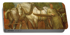 The Noonday Rest  Portable Battery Charger by George Frederick Watts