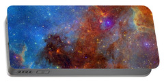 Portable Battery Charger featuring the photograph The North America Nebula In Different Lights by NASA JPL - Caltech