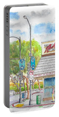 The Nosh Of Beverly Hills, Little Santa Monica And Roxbury, Beverly Hills, California Portable Battery Charger
