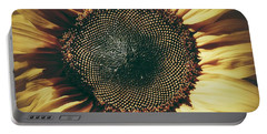 The Not So Sunny Sunflower Portable Battery Charger by Karen Stahlros