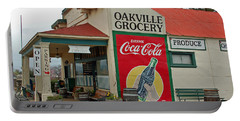 The Oakville Grocery Portable Battery Charger by Suzanne Gaff