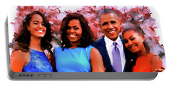 The Obama Family Portable Battery Charger