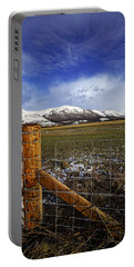 Portable Battery Charger featuring the photograph The Ochils In Winter by Jeremy Lavender Photography