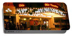 The Ohio Theater At Night Portable Battery Charger