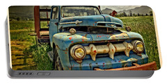 The Blue Classic 48 To 52 Ford Truck Portable Battery Charger by Thom Zehrfeld