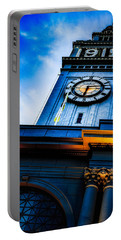The Old Clock Tower Portable Battery Charger