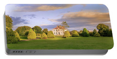 Portable Battery Charger featuring the photograph The Old Country House by Roy McPeak