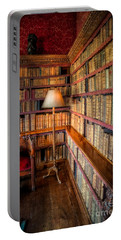 Portable Battery Charger featuring the photograph The Old Library by Adrian Evans