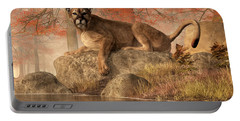 The Old Mountain Lion Portable Battery Charger