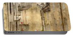 The Old Part Of Town Portable Battery Charger by LemonArt Photography