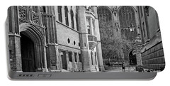 Portable Battery Charger featuring the photograph The Old Schools University Offices Cambridge by Gill Billington