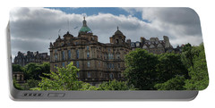 Portable Battery Charger featuring the photograph The Old Town In Edinburgh by Jeremy Lavender Photography