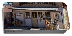 Old Vigil Store In Chimayo Portable Battery Charger