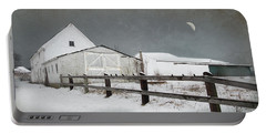 The Old White Barn Portable Battery Charger